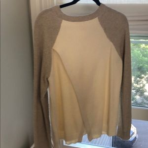 Madewell Sweaters - Madewell size M cream/beige knit sweater